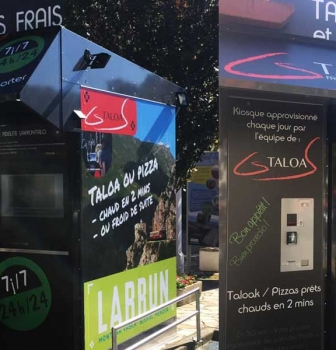 L'automate ou distributeur de GS TALOA : Taloak et Pizzas fraîches
