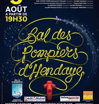 Bal des Pompiers d'Hendaye : vendredi 05 Aout 2016