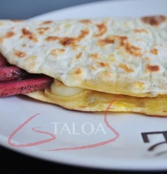 Recette Talo xingar eta ardi gasna : taloa à la ventrèche et fromage de brebis